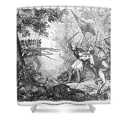 Canterbury Riot, 1838 Shower Curtain by Granger