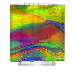 Capacious Shower Curtain by ME Kozdron