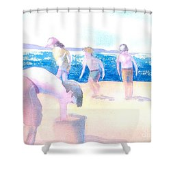 Cape Explorers Shower Curtain by Joseph Gallant