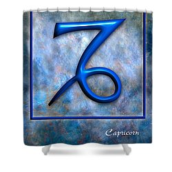 Capricorn  Shower Curtain by Mauro Celotti