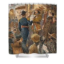 Capture Of Santa Fe, 1846 Shower Curtain by Granger