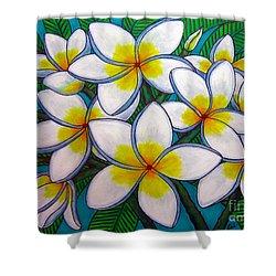 Caribbean Gems Shower Curtain by Lisa  Lorenz