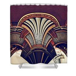 Carillonais Shower Curtain by Aimelle