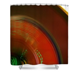 Carnival Lights Shower Curtain by Michelle Calkins