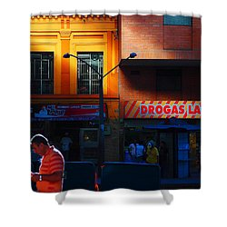 Casino Shower Curtain by Skip Hunt
