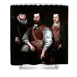 Cavendish Drake And Hawkins Shower Curtain by Granger