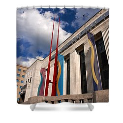 Center For Visual Art Nashville Shower Curtain by Susanne Van Hulst