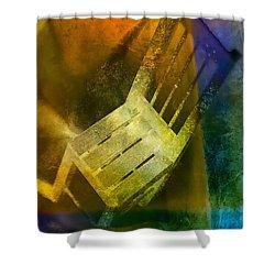 Chair  Shower Curtain by Mauro Celotti