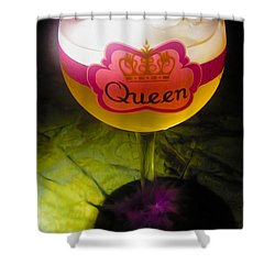 Chardonnay Queen Shower Curtain by Cheryl Young