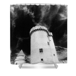 Chateau De Blandy Les Tours Shower Curtain by Simon Marsden