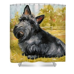 Chester Shower Curtain by Mary Sparrow