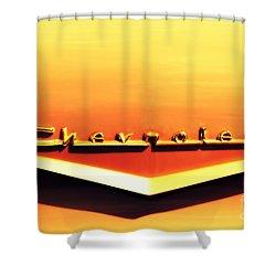 Chevrolet Shower Curtain by Susanne Van Hulst