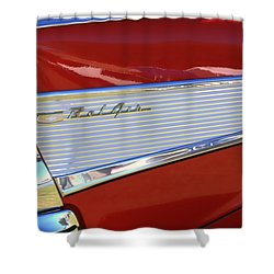 Chevy Lines Shower Curtain by Dorothy Menera