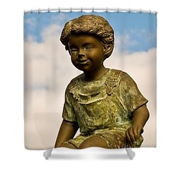 Child In The Clouds Shower Curtain by Al Powell Photography USA