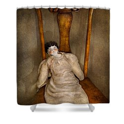 Children - Toy - Her Royal Highness  Shower Curtain by Mike Savad
