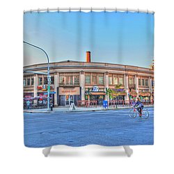 Chippewa And Delaware Shower Curtain by Michael Frank Jr