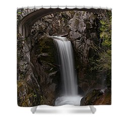 Christine Falls Serenity Shower Curtain by Mike Reid