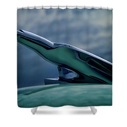 Chrome Eagle Shower Curtain by Douglas Pittman