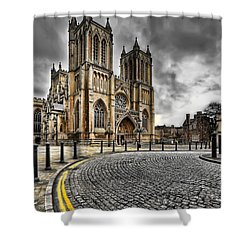 Church Of England Shower Curtain by Adrian Evans