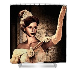 Cinderella Shower Curtain by Lourry Legarde