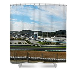 Circuito De Jerez 2011 Shower Curtain by Juergen Weiss