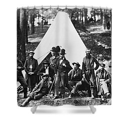 Civil War: Scouts, 1862 Shower Curtain by Granger