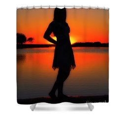 Claire Shower Curtain by Tamyra Ayles