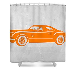 Classic Car 2 Shower Curtain by Naxart Studio