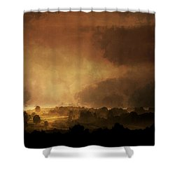 Clearing Storm Shower Curtain by Ron Jones