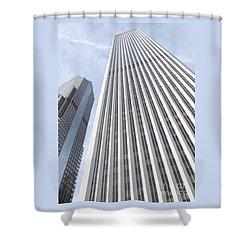 Cloudscraper Shower Curtain by Ann Horn
