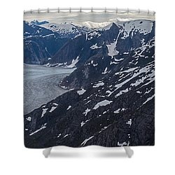 Coastal Range Awakening Shower Curtain by Mike Reid