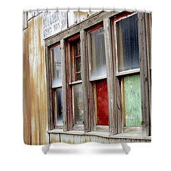Colorful Windows Shower Curtain by Fran Riley