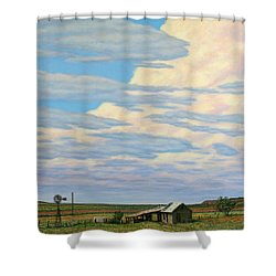 Come In Shower Curtain by James W Johnson