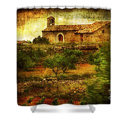Continuance Shower Curtain by Andrew Paranavitana