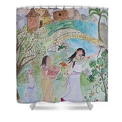 Contos De Fadas Shower Curtain by Sonali Gangane