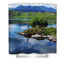 County Kerry, Ireland Fishing On Shower Curtain by Sici