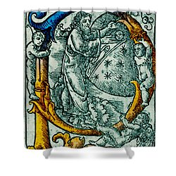 Creation Giunta Pontificale 1520 Shower Curtain by Science Source