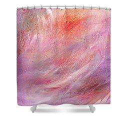 Cry Of A Bird Shower Curtain by Rachel Christine Nowicki