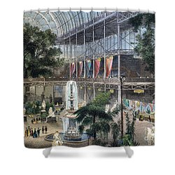 Crystal Palace Shower Curtain by Granger