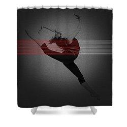 Dancer Shower Curtain by Naxart Studio