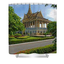 Dancing Pavilion Shower Curtain by David Freuthal