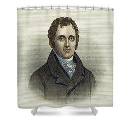 Daniel D. Tompkins (1774-1825) Shower Curtain by Granger