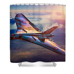Delta Lady Shower Curtain by Chris Lord