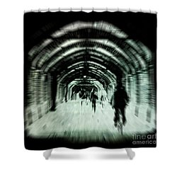 Delusions Shower Curtain by Andrew Paranavitana