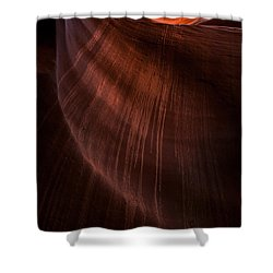 Desert Rain Shower Curtain by Mike  Dawson