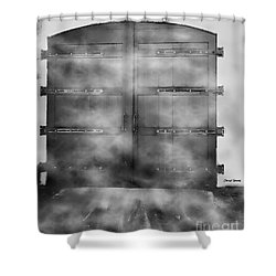 Door 3 Shower Curtain by Cheryl Young