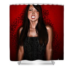 Dr. Chobotnik Shower Curtain by Pete Tapang