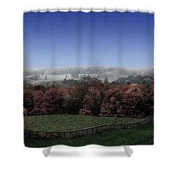 Duality  Shower Curtain by Andrea Kollo