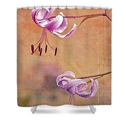 Duet 05c Shower Curtain by Aimelle