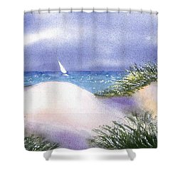 Dune View Shower Curtain by Joseph Gallant